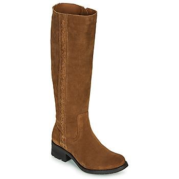 Čevlji  Ženske Mestni škornji    Casual Attitude LOUNA Taupe