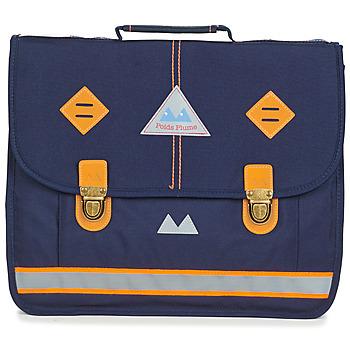 Torbice Dečki Šolska torba Poids Plume VISIBILITY CARTABLE 38 CM Modra