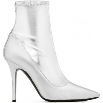 Čevlji  Ženske Mestni škornji    Giuseppe Zanotti I870030 001 argento