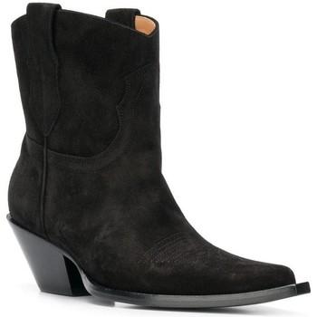 Čevlji  Ženske Mestni škornji    Maison Margiela S58WU0221 PR047 nero