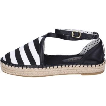 Čevlji  Ženske Espadrile O-joo Sandale BR119 Črna