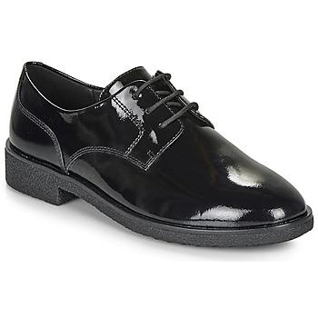 Čevlji  Ženske Čevlji Derby Clarks GRIFFIN LANE Črna