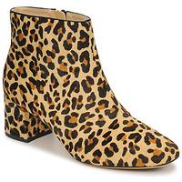 Čevlji  Ženske Gležnjarji Clarks SHEER FLORA Kostanjeva