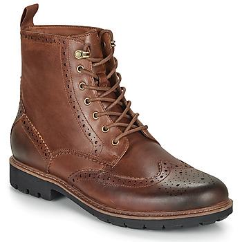 Čevlji  Moški Polškornji Clarks BATCOMBE LORD Kamel