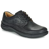 Čevlji  Moški Čevlji Derby Clarks NATURE THREE Črna