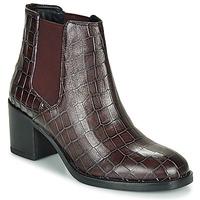 Čevlji  Ženske Gležnjarji Clarks MASCARPONE Bordo
