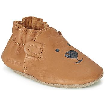 Čevlji  Otroci Nogavice za dojenčke Robeez SWEETY BEAR Kamel