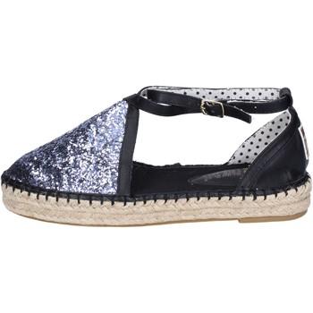 Čevlji  Ženske Espadrile O-joo Sandale BR122 Srebro