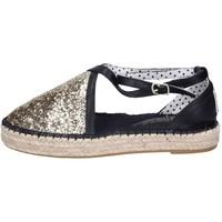 Čevlji  Ženske Espadrile O-joo Sandale BR126 Zlato