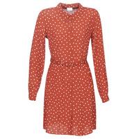 Oblačila Ženske Kratke obleke Vila VISULOLA Rdeča
