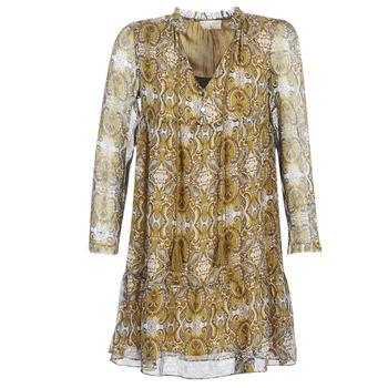 Oblačila Ženske Kratke obleke Moony Mood LONI Rumena