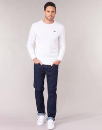 Oblačila Moški Jeans straight Levi's 514 STRAIGHT Chain / Rinse