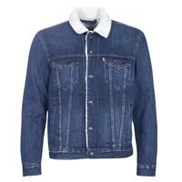 Oblačila Moški Jeans jakne Levi's TYPE 3 SHERPA TRUCKER Palmer / Sherpa / Trucker