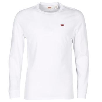 Oblačila Moški Majice s kratkimi rokavi Levi's LS ORIGINAL HM TEE Bela