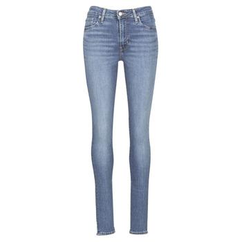 Oblačila Ženske Jeans skinny Levi's 721 HIGH RISE SKINNY Los /  angeles / Sun