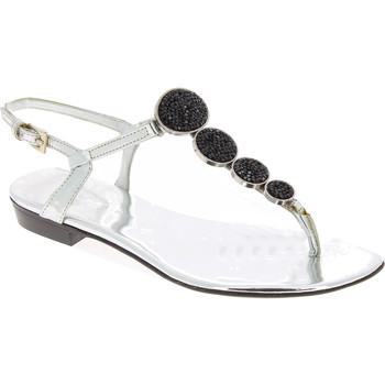 Čevlji  Ženske Sandali & Odprti čevlji Barbara Bui J5407 SPJ 8010 argento