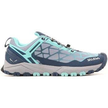 Čevlji  Ženske Nizke superge Salewa WS Multi Track Siva, Modra, Svetlo modra