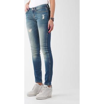 Oblačila Ženske Jeans skinny Wrangler Sandy Blues W23S4072G blue