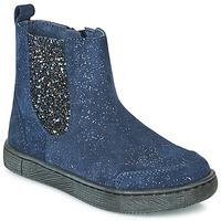 Čevlji  Deklice Polškornji Mod'8 BLABIS Modra