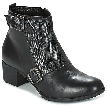 Čevlji  Ženske Gležnjarji Andrea Conti CASTEL Črna