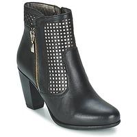 Čevlji  Ženske Gležnjarji Andrea Conti SAMPI Črna