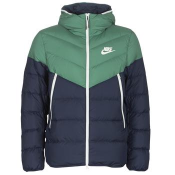 Oblačila Moški Puhovke Nike M NSW DWN FILL WR JKT HD Zelena