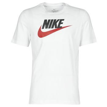 Oblačila Moški Majice s kratkimi rokavi Nike M NSW TEE ICON FUTURA Bela
