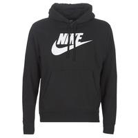 Oblačila Moški Puloverji Nike M NSW CLUB HOODIE PO BB GX Črna