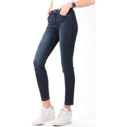 Oblačila Ženske Jeans skinny Lee Scarlett High Crop Skinny Cropped L32BAIFA navy