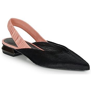 Čevlji  Ženske Balerinke Heimstone SWEDES Črna / Rožnata