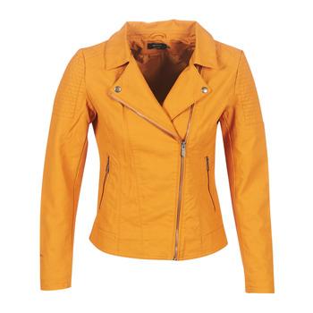 Oblačila Ženske Usnjene jakne & Sintetične jakne Only ONLMEGAN Rumena