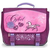 Torbice Deklice Šolska torba Back To School CYBEL CARTABLE 38 CM Rožnata
