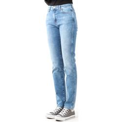 Oblačila Ženske Jeans skinny Wrangler Boyfriend Best Blue W27M9194O blue
