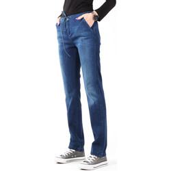 Oblačila Ženske Jeans skinny Wrangler Slouchy Cosy Blue W27CGM82G navy