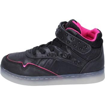 Čevlji  Deklice Visoke superge Lulu Superge BR353 Črna