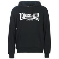 Oblačila Moški Puloverji Lonsdale WOLTERTON Črna
