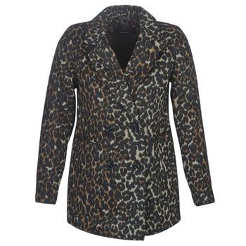 Oblačila Ženske Plašči Vero Moda VMCOCOLEOPARD Kostanjeva