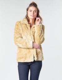 Oblačila Ženske Plašči Vero Moda VMMINK Bež