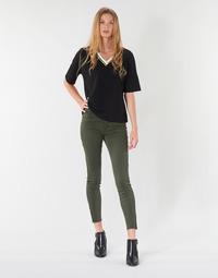 Oblačila Ženske Hlače s 5 žepi Vero Moda VMSEVEN Kaki