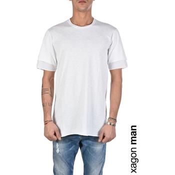 Oblačila Moški Majice s kratkimi rokavi Xagon Man  Bela