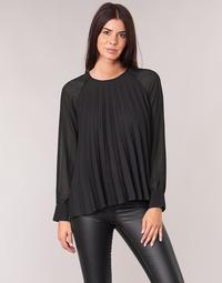 Oblačila Ženske Topi & Bluze Moony Mood LAURA Črna