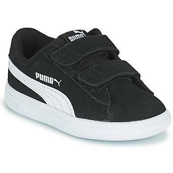 Čevlji  Otroci Nizke superge Puma SMASH INF Črna