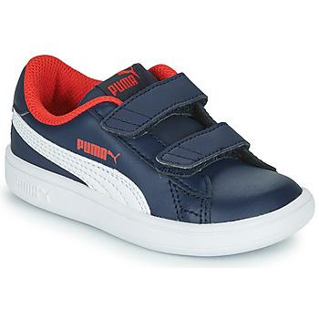 Čevlji  Dečki Nizke superge Puma SMASH Modra