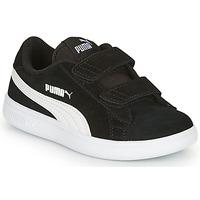 Čevlji  Otroci Nizke superge Puma SMASH Črna
