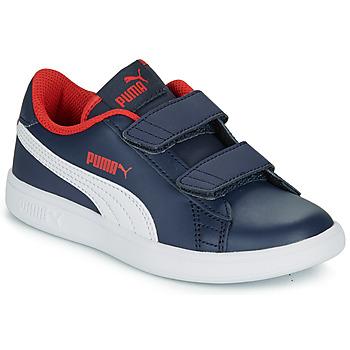 Čevlji  Dečki Nizke superge Puma SMASH PS Modra