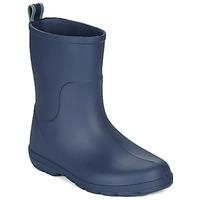 Čevlji  Otroci škornji za dež  Isotoner 99219 Modra