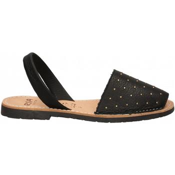 Čevlji  Ženske Sandali & Odprti čevlji Ria VELVET BLANCO negro