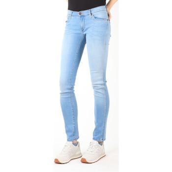 Oblačila Ženske Kavbojke slim Wrangler Jeans  Blue Trace W22TF729D