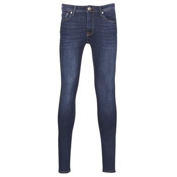 Oblačila Moški Jeans skinny Jack & Jones JJILIAM Modra