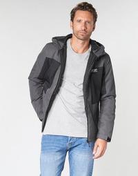 Oblačila Moški Jakne Jack & Jones JCOBEST Siva / Črna